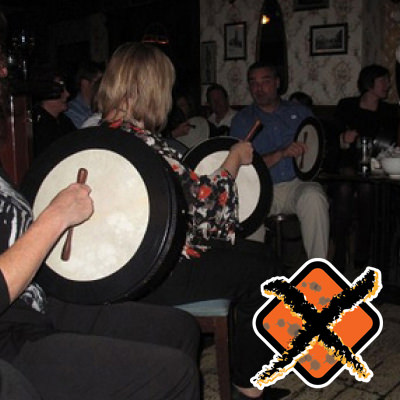 Bodhrán Workshop Music & Rhythm Team Building Programmes