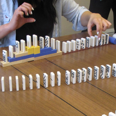 Domino Effect Icebreaker and Energiser Team Building Programmes