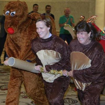 Flat Out Reindeer Sleigh Grand Prix Christmas Team Building Programmes
