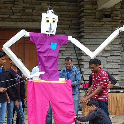 Puppet Masters Creative Challenges Team Building Programmes