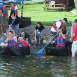 Flat Out Afloat Innovation and Invention Team Building Programmes